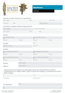 PSMdB_Formulario Bautismo